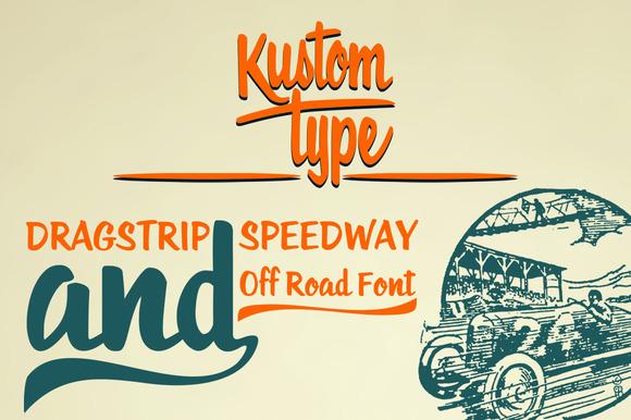 Roadstar Hot Rod Font