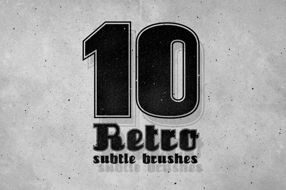 10 Retro Subtle Brushes