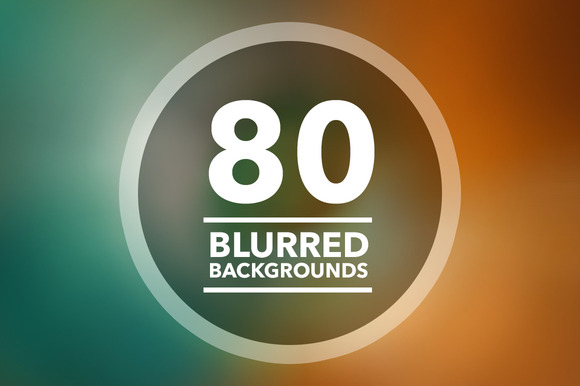 80 Blurred Backgrounds