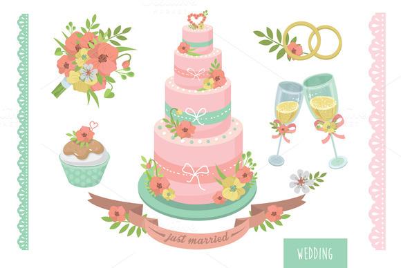 Wedding Vector Set