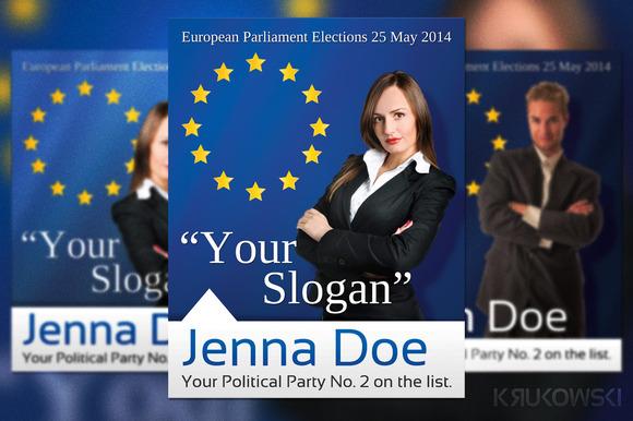 European Elections Flyer