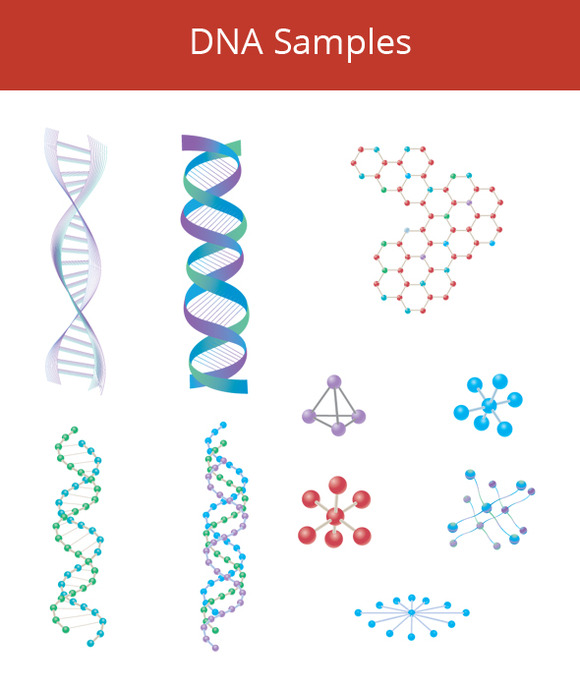 DNA Samples Vector