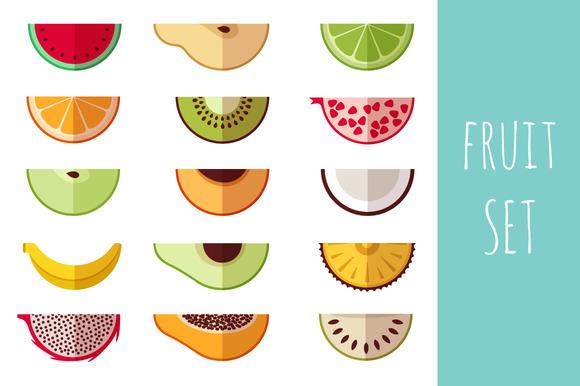 Fruit Set Icons