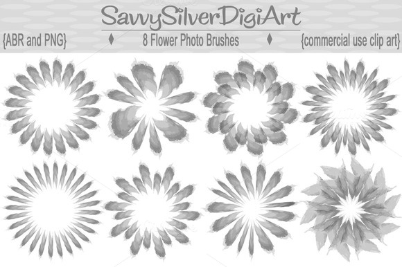 Flower Photo Brushes