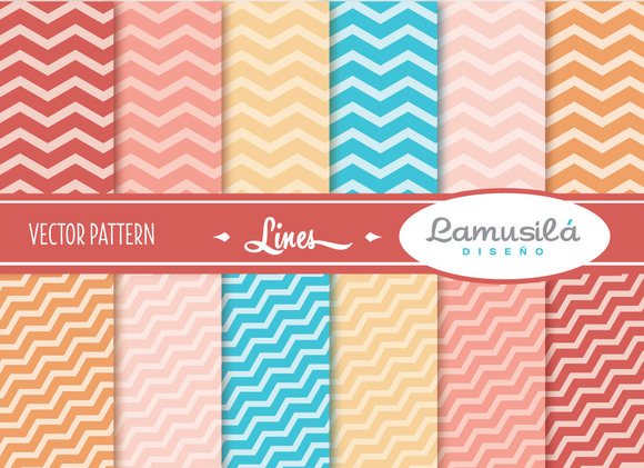 Lines Vector Pattern