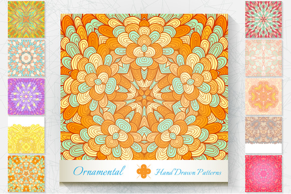 10 Ornamental Patterns Set#2