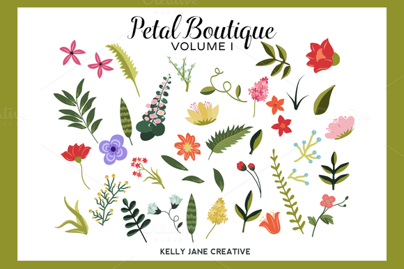 Petal Boutique Flowers Vol 1
