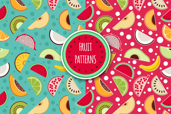 Patterns Fruits