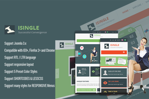 SJ ISingle Best Business Template