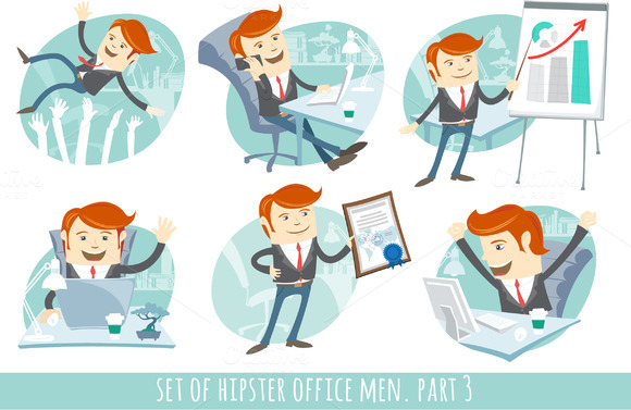 Office Men Set Part 3