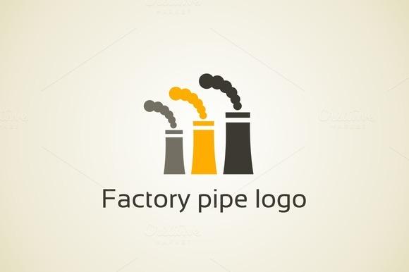 Factory Pipe Logo