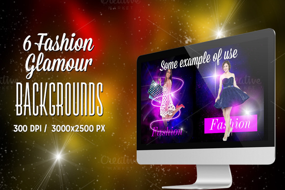 Fashion Glamour Backgrounds