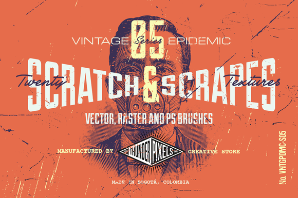 20 Scratch Scrapes Textures VES05