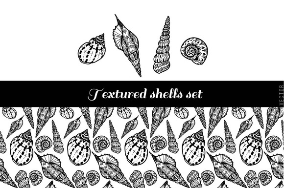 Textured Shells Set