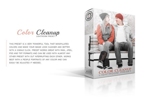 Color Clean-up Preset