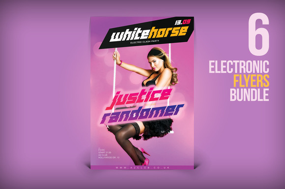 6 Electronic Flyers Bundle