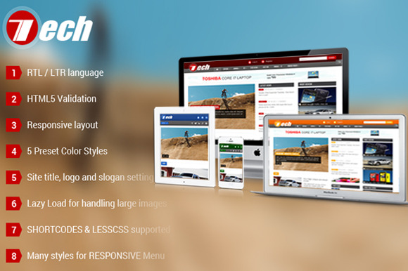 SJ Tech Technology Joomla Template