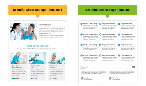 Healthcentre WordPress Theme