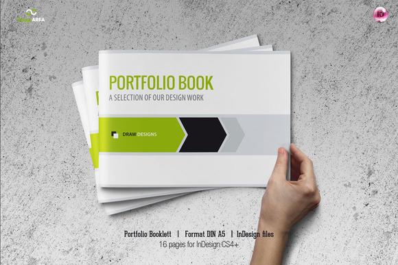 Portfolio Booklet DIN A5