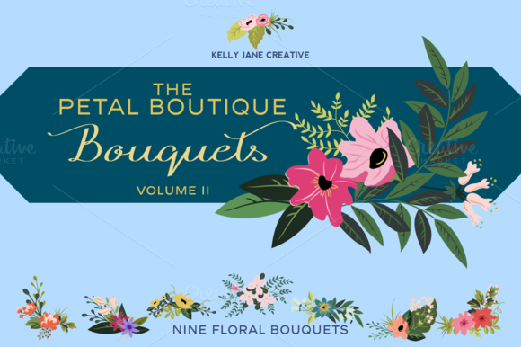 Petal Boutique Bouquets Vol 2
