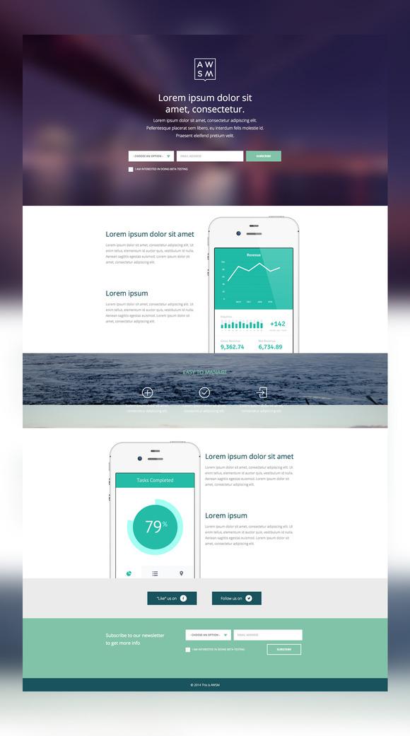 App Launch Website