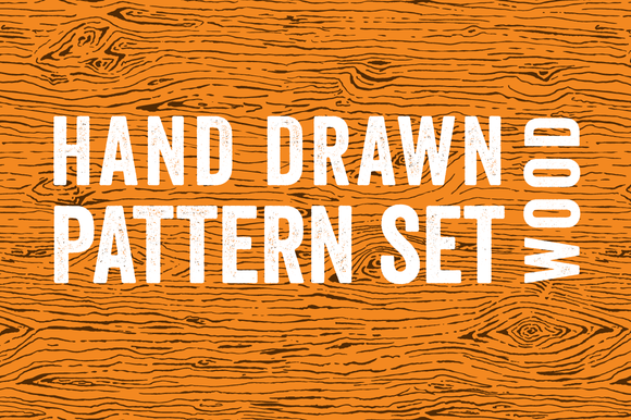 3 Seamless Wood Grain Patterns