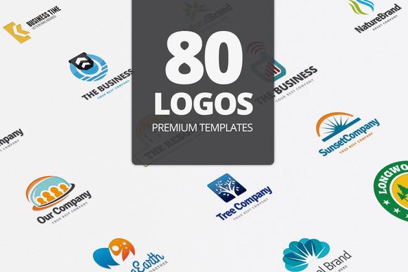 80 Logo Templates Premium Item