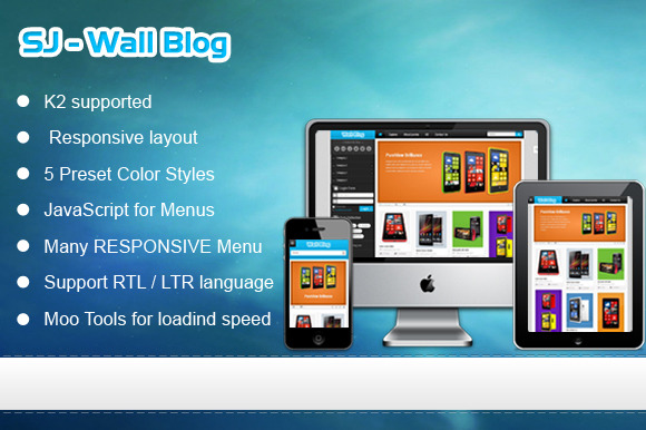 SJ Wall Blog Technology Template