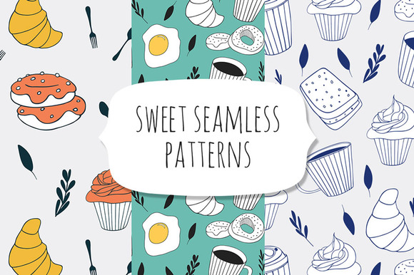 Sweet Seamless Patterns