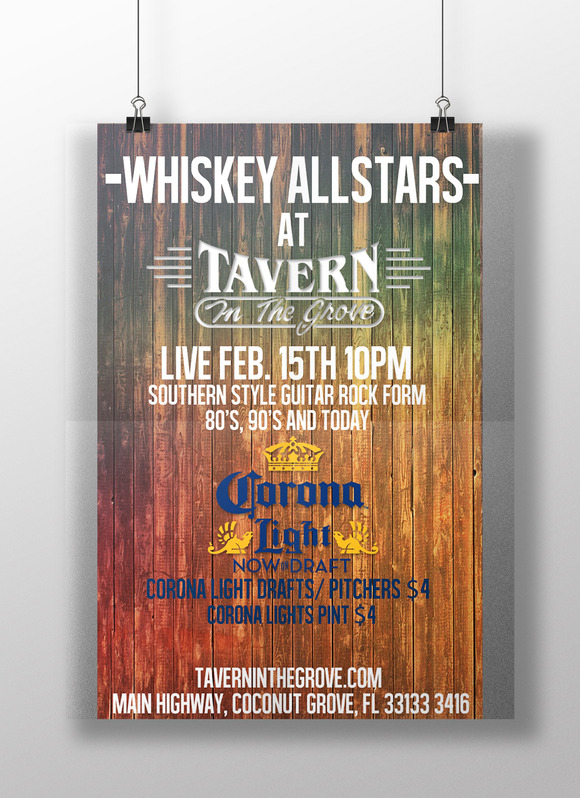 TAVERN FLYER TEMPLATE
