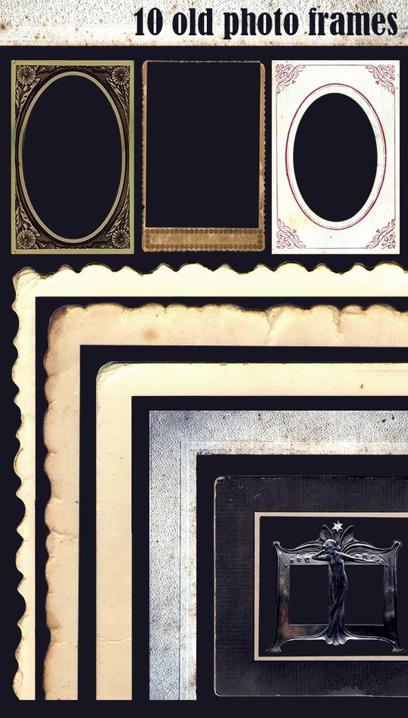 10 Old Photo Frames