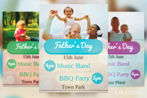 Father S Day Flyer