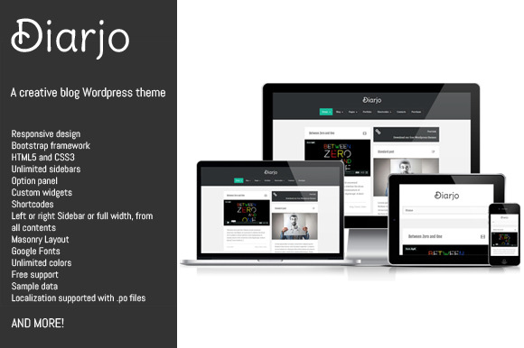 Diarjo Creative Wordpress Theme