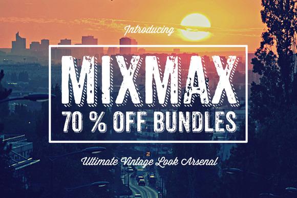 MIXMAX Vintage Template