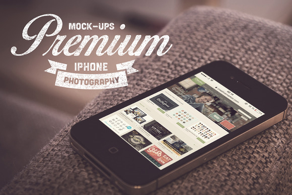 5 Real Photography IPhone Mock-Ups