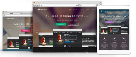 Paradigm Responsive Wordpress Theme