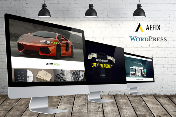 AFFIX OnePage Parallax WP Theme
