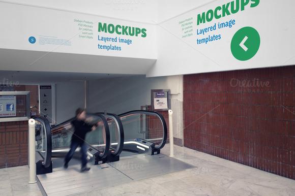 Indoor Signage Mockup 01