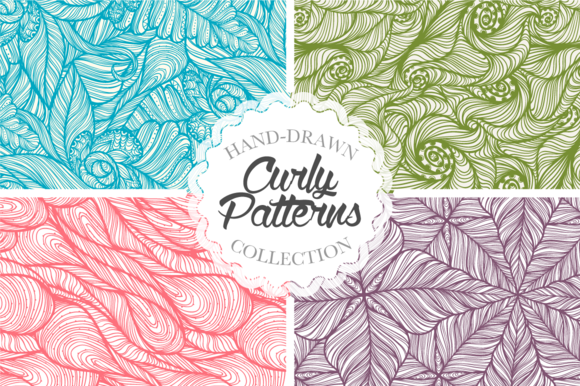 Curly Patterns Set