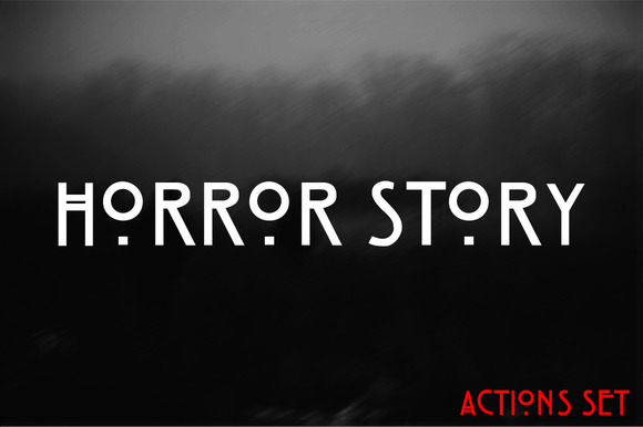 Horror Story Actions Set