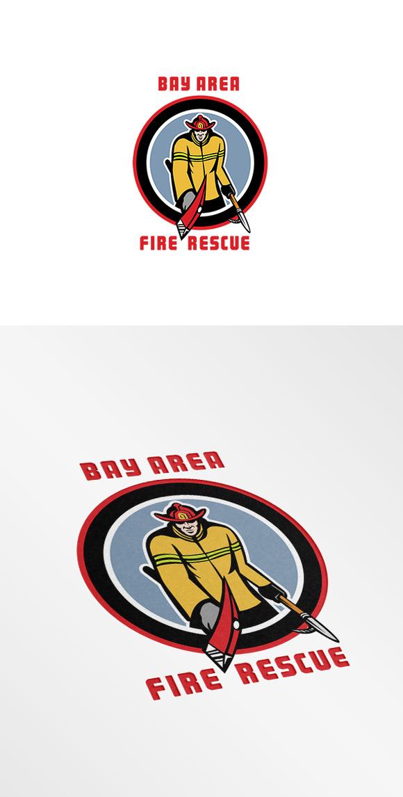 Bay Area Fire Rescue Logo