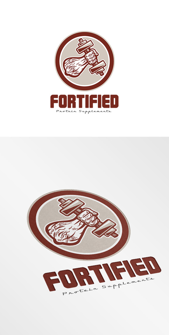 Forted Protein Supplements Logo