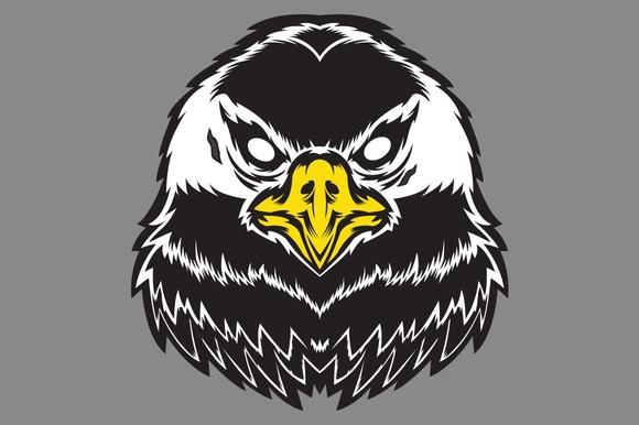 Vector Eagle Head