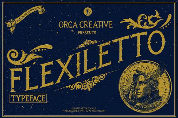 Flexiletto Typeface