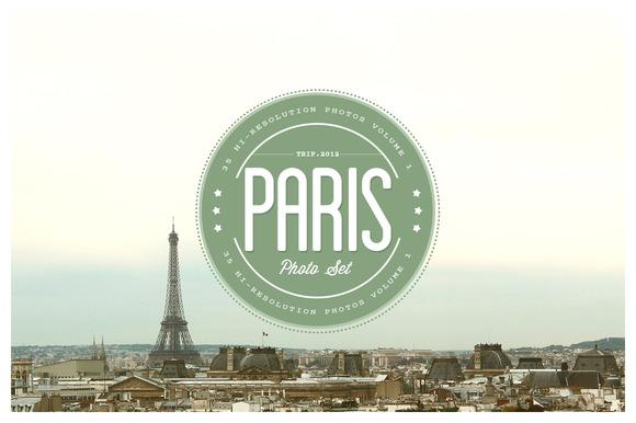 Paris Photo Set Vol.01