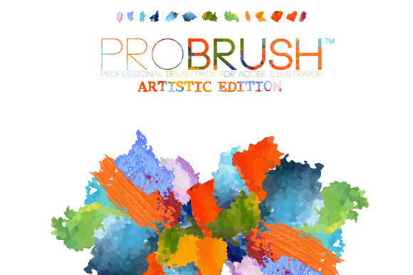 41 Artistic Brushes ProBrush