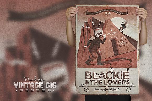 Vintage Poster V