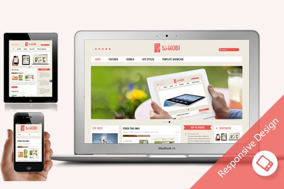 SJ Mobi Technology Joomla Template