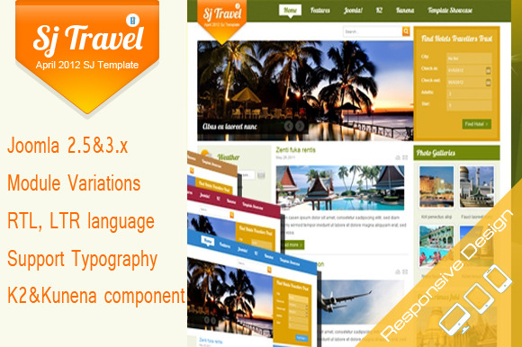 SJ Travel II Cool Travel Template