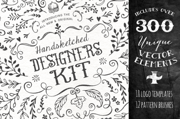 Handsketched Designer S Branding Kit